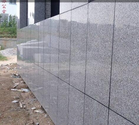 五莲红外墙干挂石材案例