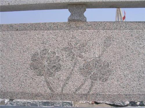 樱花红桥栏板