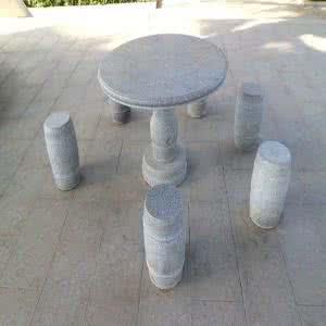 五莲灰石凳
